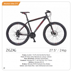 ZigZag - Mountain Bike 27.5''